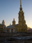 Петропавловская крепость. Собор Петра и Павла.