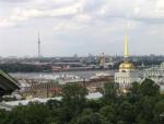 Петропавловская крепость и собор.