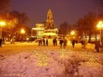 Памятник Екатерине 2. Существует миф, что внутри этого памятника<br>находится сокровища.
