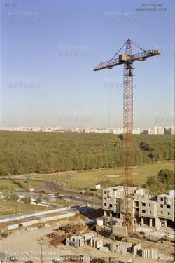 Фото Города: Строительство жилого здания.